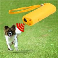 Ультразвуковой отпугиватель собак 3 в 1