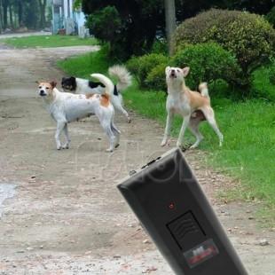 Мощный ультразвуковой отпугиватель злых собак с фонариком