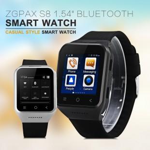 Стильные часы ZGPAX S8 смарт часы Android 4.4 2 SIM карты
