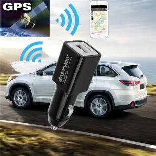 Автомобильный GPS трекер + зарядное устройство
