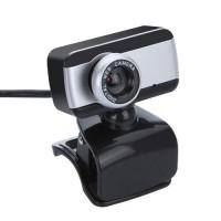 Купить USB 2.0 Вебкамера с микрофоном для настольных компьютеров и ноутбуков