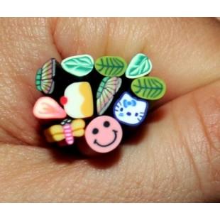 Фимо палочки для украшения ногтей 10 штук