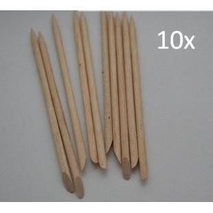 Апельсиновые палочки для кутикул 10 штук