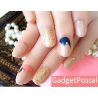 Порошковые блестки для Nail Art 12 цветов
