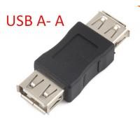 Купить USB  мама мама переходник Female to Female