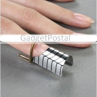 5 штук многоразовых форм предназначенных для наращивания ногтей