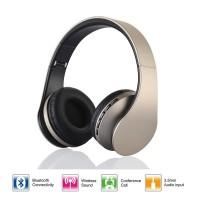 4 в 1 стерео наушники LH-811   с блютуз, микрофоном, шнуром 3.5, плеером MP3
