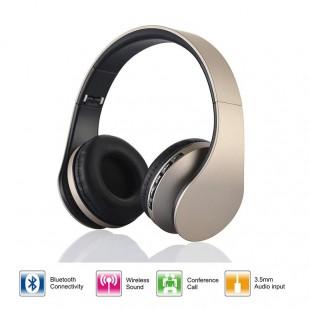 4 в 1 Многофункциональные стерео Bluetooth наушники: беспроводной стерео Bluetooth + карта MP3-плеер + функция FM-радио + Проводная гарнитура