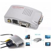 Конвертер видеосигнала для подключения компьютера к любому телевизору