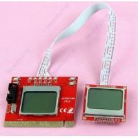 PTI8  PCI POST карта универсальная с LCD дисплеем для ПК и НОУТБУКА