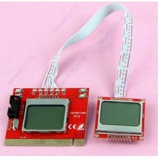 PCI POST карта универсальная с LCD дисплеем для ПК и НОУТБУКА