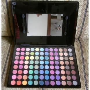Набор палеток теней из 96 цветов для глаз