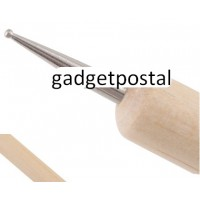 Дотс кисть с деревянной ручкой