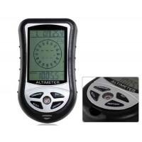 Эргономичный, многофункциональный электронный барометр рыбака (черный)
