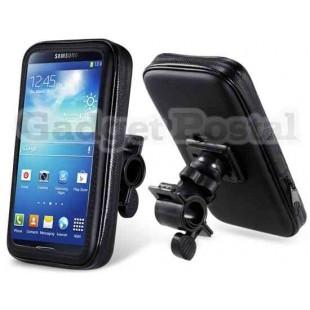 ЦС-0509 мотоцикл велосипед Водонепроницаемый защитный мешок с сенсорной функции &амп; держатель для Samsung 9200 (черный)