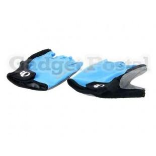 Перчатки без пальцев для Велоспорт L (синий)