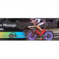 Беспроводная информация Настройка велосипеда свет (черный)