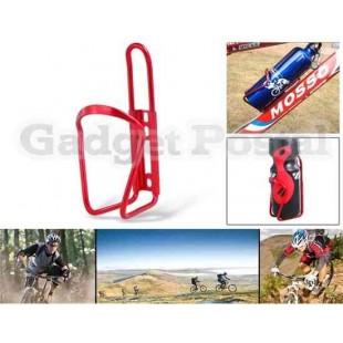 Алюминиевый велосипед бутылку воды Кейдж (красный)