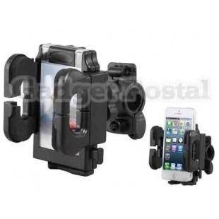 Пластиковый держатель велосипедов телефон (черный)
