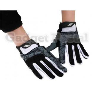 Велоспорт перчатки Sz L (черный)