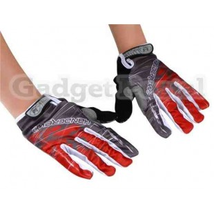 Велоспорт перчатки SZ Л (красный)