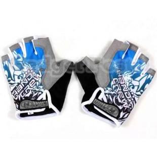 Перчатки без пальцев Велоспорт SZ Л (синий)