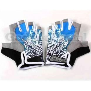 Пальцев Велоспорт перчатки (синий)