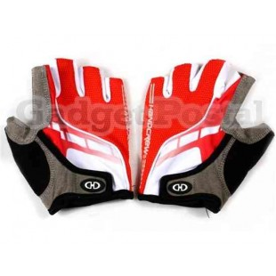 Стильные перчатки без пальцев Велоспорт SZ Л (красный)