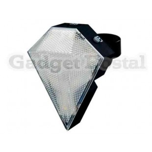 8-LED Аккумуляторная Задний фонарь лазер для велосипедов