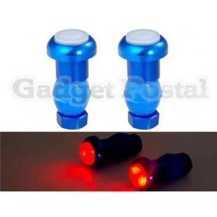 Красный свет Светодиодный свет велосипеда предупредительный (синий)