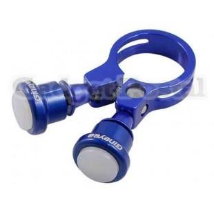 Велосипед Seatpost Зажим лампы 31.8мм велосипед Quick Release Seatpost Зажим лампы (синий)