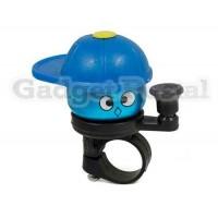 Купить Новый велосипед Hat Крышка конусная сигнализации велосипед Металл Руль Хорн (синий)