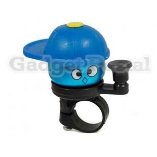 Новый велосипед Hat Крышка конусная сигнализации велосипед Металл Руль Хорн (синий)