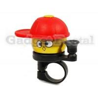Купить Новый велосипед Hat Крышка конусная сигнализации велосипед Металл Руль Хорн (красный)