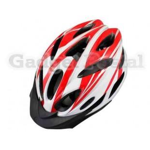 MTB / Дорога велосипед Велоспорт велосипед Велоспорт Шлем + козырек LW-821 (красный)