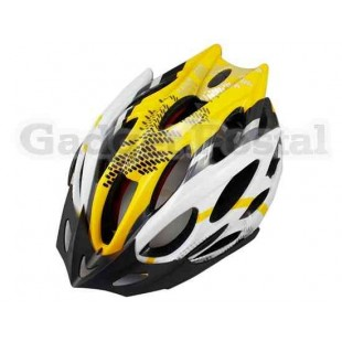 MTB / Дорога велосипед Велоспорт велосипед Велоспорт Шлем + козырек LW-829 (желтый)