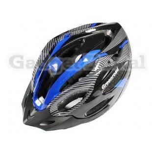 MTB / Дорога велосипед Велоспорт велосипед Велоспорт Шлем + козырек LW-830 (синий)