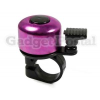 Купить Новый велосипед Мини Руль алюминиевый сплав Белл (фиолетовый)