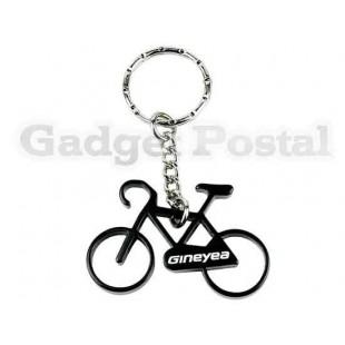 Велосипед брелоки Алюминиевый велосипед брелок Велоспорт бутылок (черный)