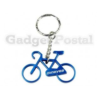 Велосипед Брелоки алюминиевый велосипед брелок Велоспорт бутылок (синий)