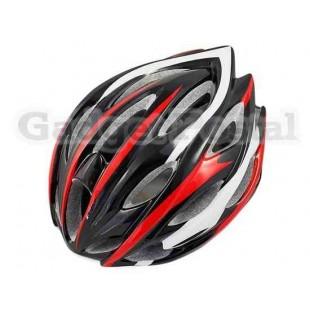 MTB / Дорога велосипед Велоспорт велосипед Велоспорт Шлем + козырек LW-208 (черный + красный)