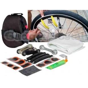 SAHOO велосипед ремонт набор инструментов мешок (черный+красный)