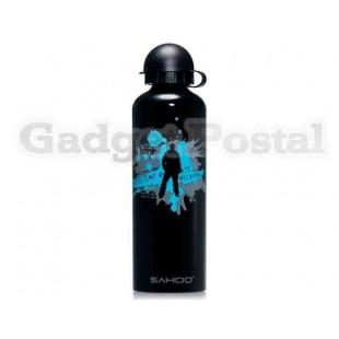 SAHOO 52133 750мл алюминиевого сплава Велоспорт бутылка для воды (черный)