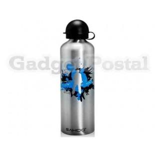 SAHOO 52133 750мл алюминиевого сплава Велоспорт бутылку воды (серебро)