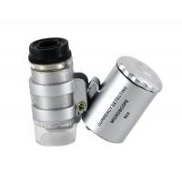60 X микроскоп с подсветкой