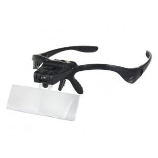 Увеличительные очки с 5 сменными линзами