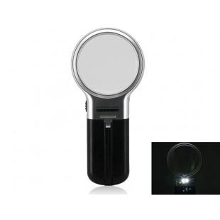 Ручная лупа с функцией детектора купюр и ультрафиолетовой подсветкой