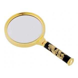 90 мм  увеличительное стекло с ручкой в виде Дракона
