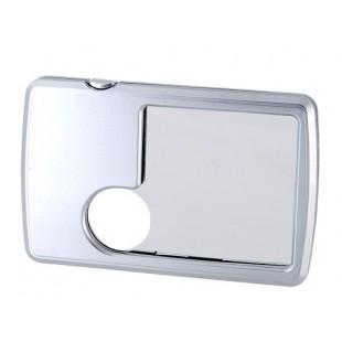 3X / 6X  увеличительное стекло размером с карту - 2 линзы