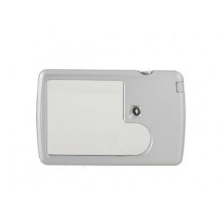 3X - 6X  увеличительное стекло  - лупа размером с кредитную карту